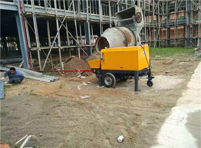 Concrete pump application