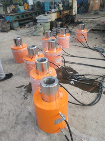double acting hollow hydraulic cylinder