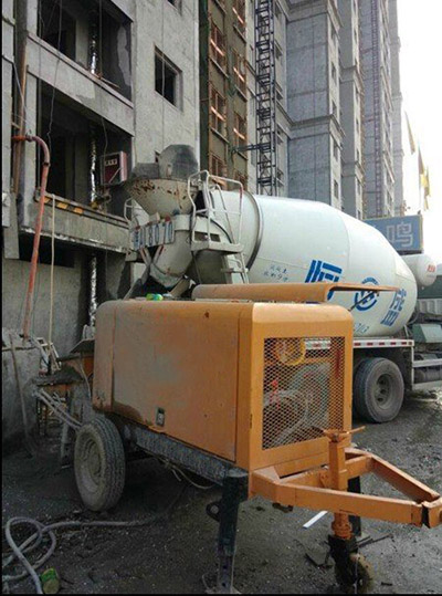 trailer concrete pump prices