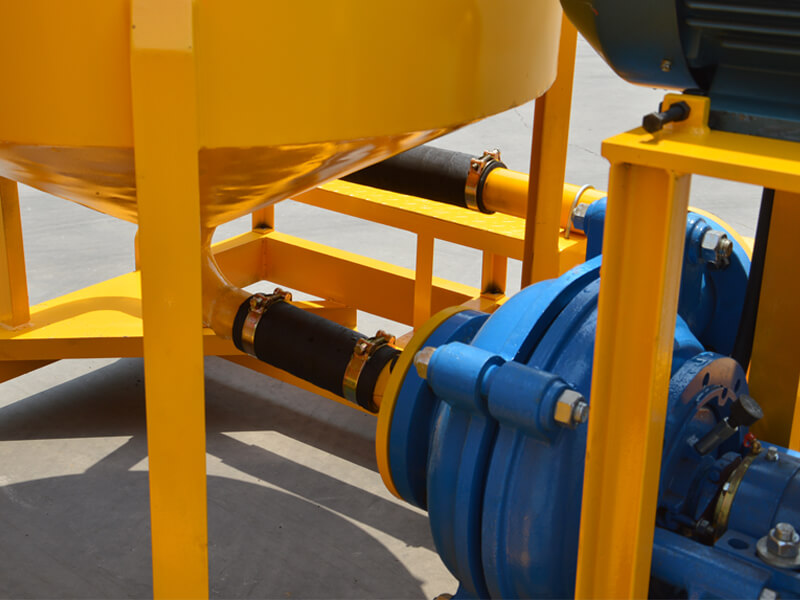 continuous cement mixing and grouting pump