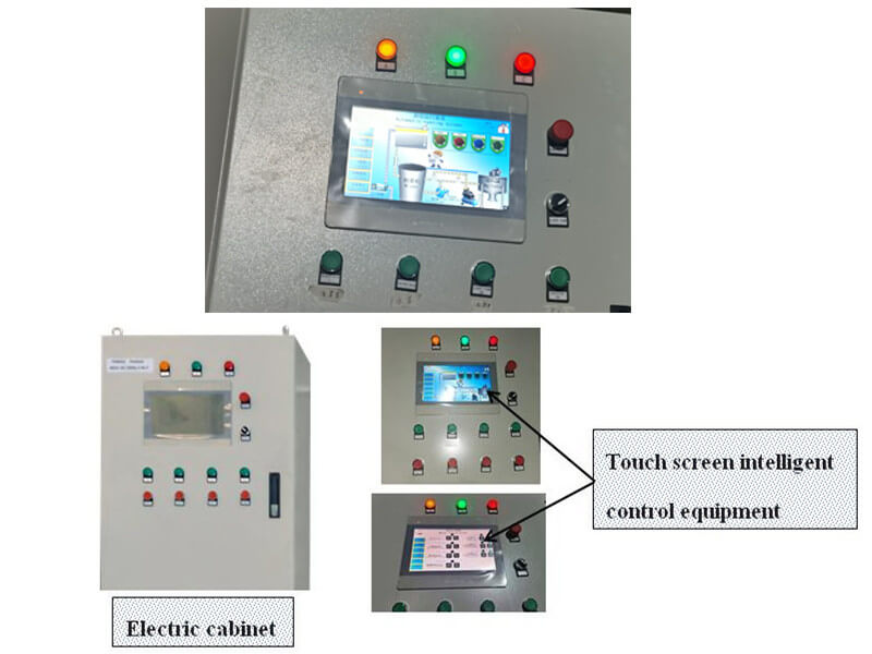 touch screen intelligent control equipment