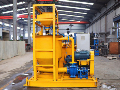 grout mixing and pumping system supplier