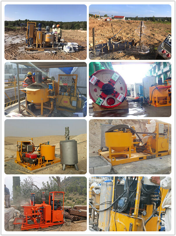 bentonite injection plant application