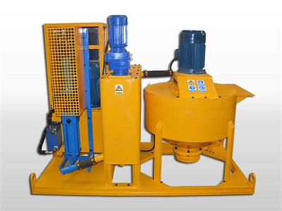 industrial mining grout pump
