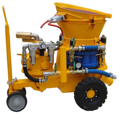 air motor shotcrete machine