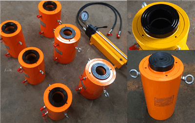 double acting hollow hydraulic jack