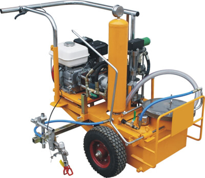 Normal temperature road marking machine