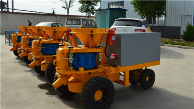 tunnel shotcrete machine manufacturers