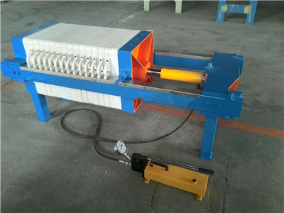 high pressure hydraulic filter press