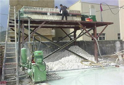 filter press for lime mud