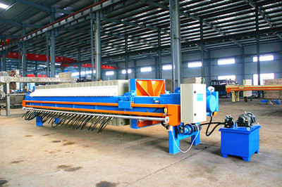China filter press factory