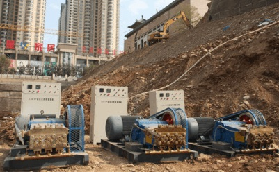 high pressure jet grouting pump for sale