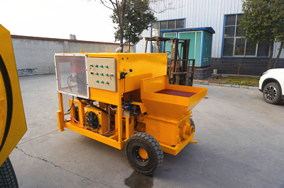 concrete mixer pump with electric engine