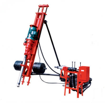 DTH drilling machine for quarry