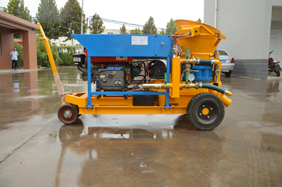 dry mix shotcrete machine