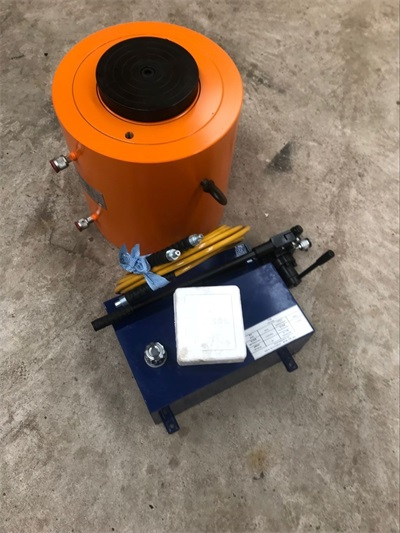 500ton hydraulic jack and 40L hand pump