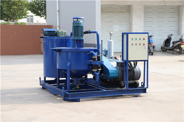 combination slurry mixer