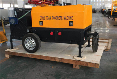 portable lightweight foam concrete pump