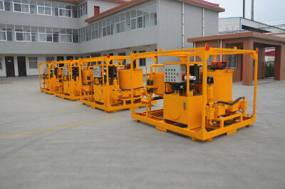 hydraulic grout station for sale