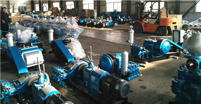 triplex drilling mud pump