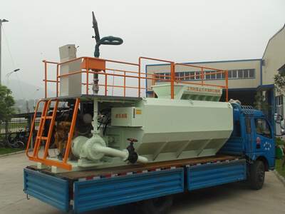 Hydroseeder machine