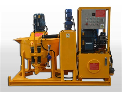 industrial mining grout machine