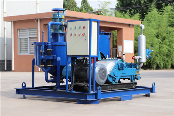compact slurry mixer and pump