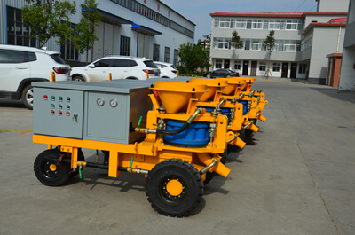 shotcrete machine for grid slope protection