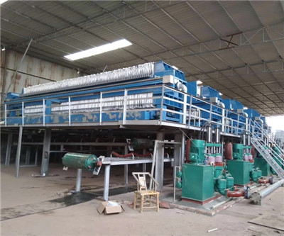 filter press for sugar refinery