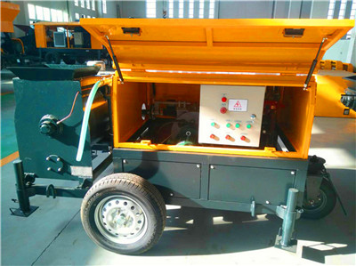 mobile foam concrete machine