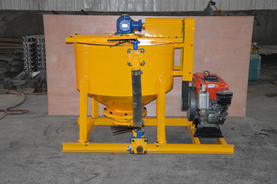 diesel colloidal grout mixer