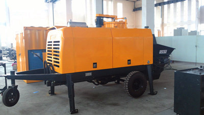 stationary concrete pump for construction