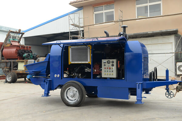 China concrete pump manufacturing company
