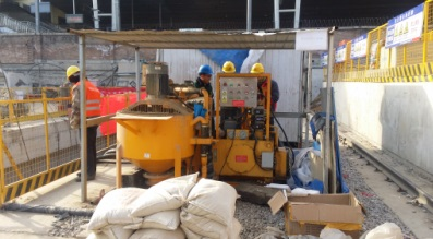 grouting mixing unit for sale