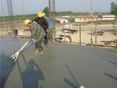 foam concrete construction process