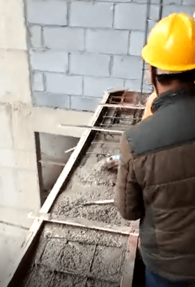 electric mini concrete pump for wall construction