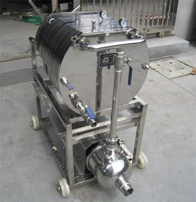 food and beverage stainless  steel filter  press