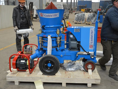 price of castable guniting machine