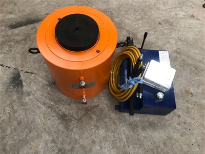 500ton hydraulic jack with 40L manual pump