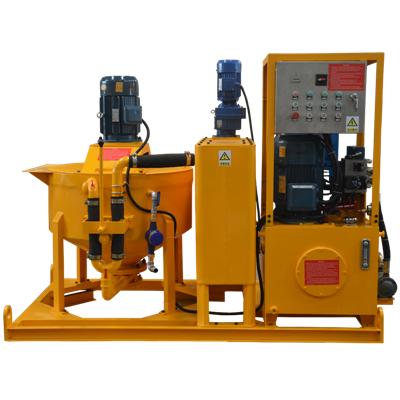 grouting pump station