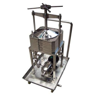 wine making filter press
