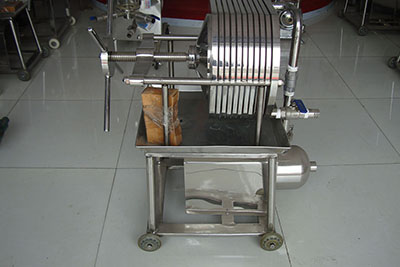 stainless steel plate and frame filter press