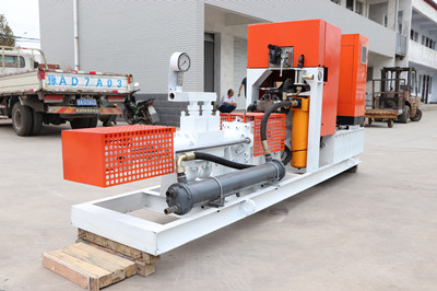 cement grout pump for installing self-drilling anchors