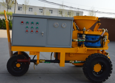 wet shotcrete machine tunnels