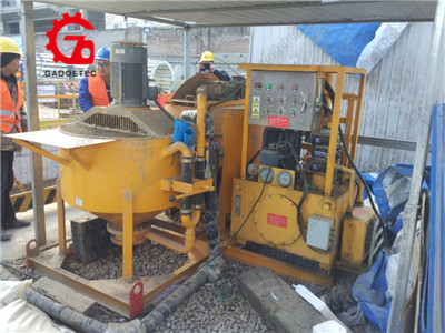 grouting pumping unit