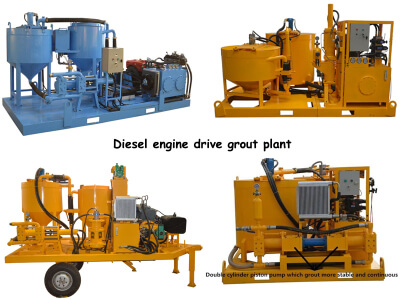 grouting and mixing plant for sale