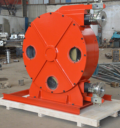 Industrial peristaltic pumps for Gold smelting industry