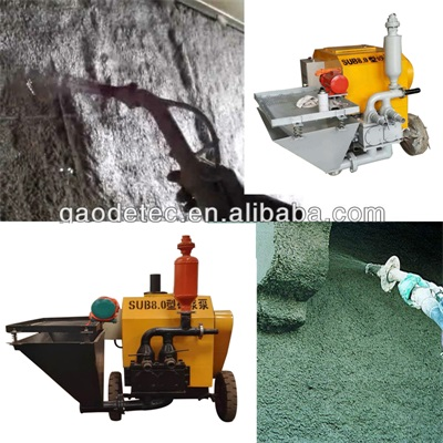 mortar mixer machine