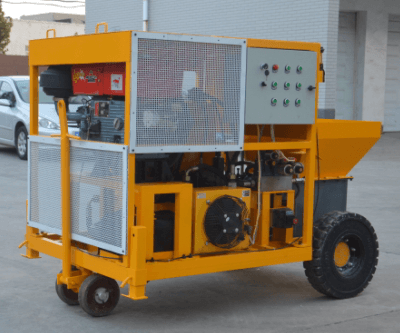 diesel mini concrete pump for wall grouting