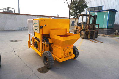 concrete pumping application